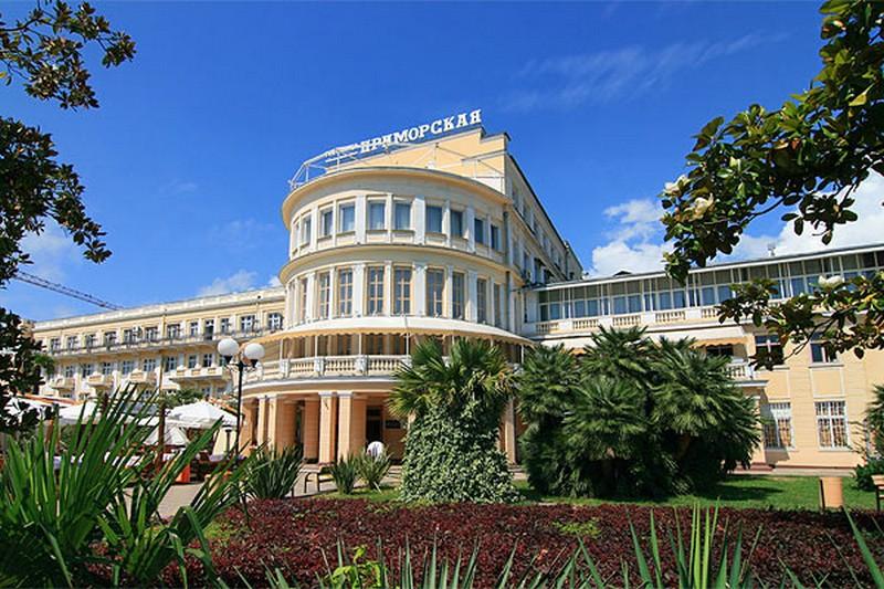 Отель гостиница приморская (россия сочи) booking. Com.